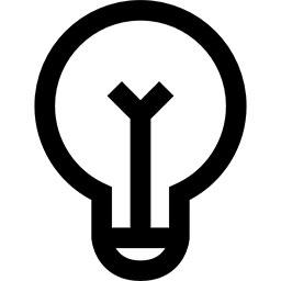 logo ampoule d'une maison connectée