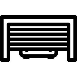 logo garage d'une maison connectée