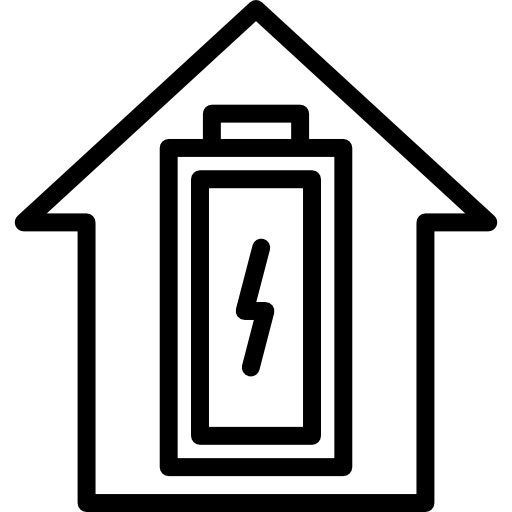 logo suivi d'énergie d'une maison connectée