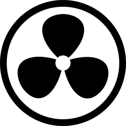 logo ventilation d'une maison connectée